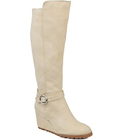 Journee Collection Women's Comfort Extra Wide Calf Veronica Boot