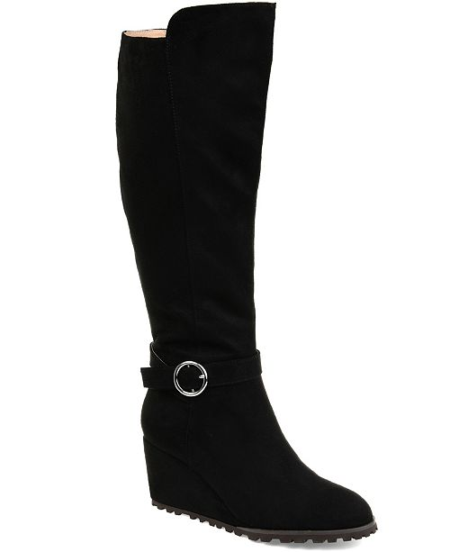 Journee Collection Women's Comfort Wide Calf Veronica Boot