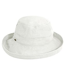 Medium Brim Cotton Bucket Hat