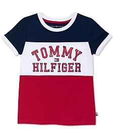 Tommy Hilfiger Big Girls Tommy U Graphic T-Shirt