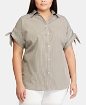 593f3465 Ralph Lauren Plus Size Clothing - Lauren Ralph Lauren - Macy's