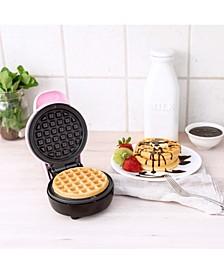 Mini Waffle Maker, Pink