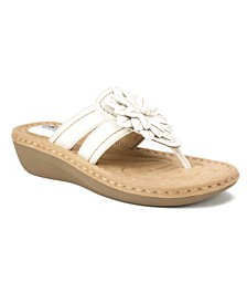 Cliffs by White Mountain Cupcake Comfort Thong Sandals