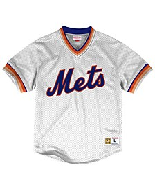 Men's New York Mets Mesh V-Neck Jersey