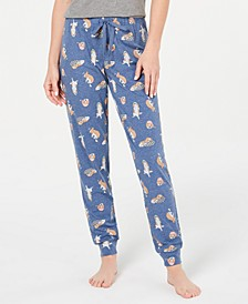 Novelty Pajama Joggers, Created for Macy's