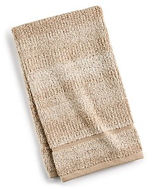 Hotel Collection Ultimate MicroCotton Mingled Stripe Fashion Hand Towel, Created for Macy's