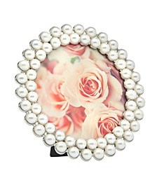 Round Pearl Frame - 4 x 4