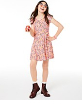 b2109b94ef5 Epic Threads Big Girls Birds-Print Bow-Back Dress, Created for Macy's