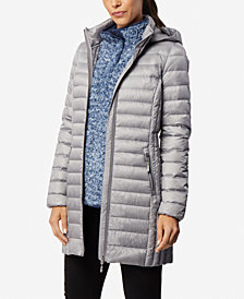 32 Degrees Packable Hooded Down Puffer Coat