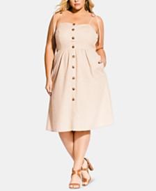 City Chic Trendy Plus Size Riviera Dress