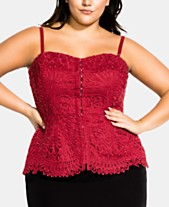 2a4191ee0d355 City Chic Plus Size Clothing - Macy's - Macy's