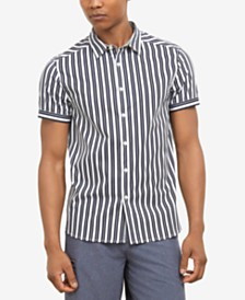 Kenneth Cole New York Men's Vertical Striped Shirt, Created for Macy's