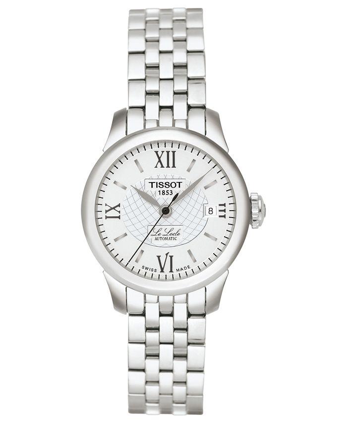 Tissot - Watch, Women's Swiss Automatic Le Locle Stainless Steel Bracelet 42mm T41118333