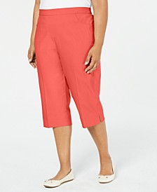 Plus Size Coastal Drive Capri Pants