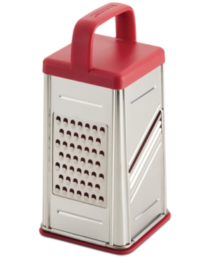Rachael Ray Tools & Gadgets Box Grater, Red