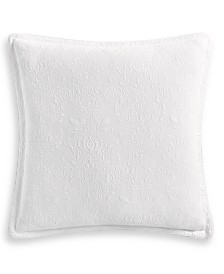 Hotel Collection Classic White Matelassé European Sham, Created for Macy's