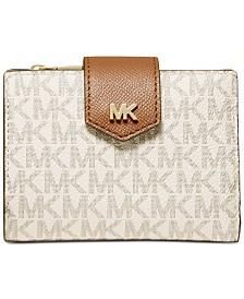 MICHAEL Michael Kors Signature Snap Billfold Wallet