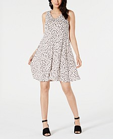 Printed Crisscross Strap Dress, Created for Macy's