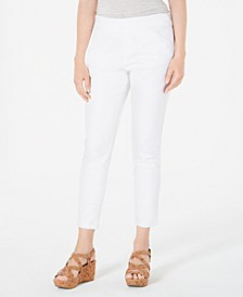 Pull-On Slant-Pocket Ankle Pants, Created for Macy's