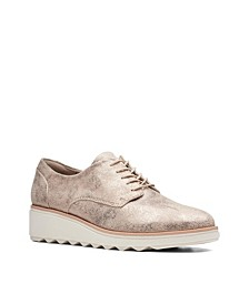 Collection Women's Sharon Crystal Wedge Oxfords