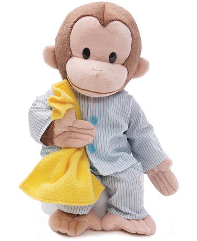 Gund 174 Kids Toys Curious George In Pajamas Toy Toys