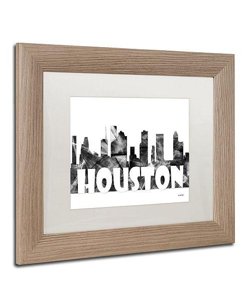 Trademark Global Marlene Watson 'Houston Texas Skyline BG