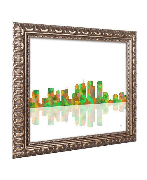Trademark Global Marlene Watson 'Tampa Florida Skyline