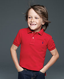 Ralph Lauren Kids Shirt, Boys and Little Boys Solid Polo Shirt
