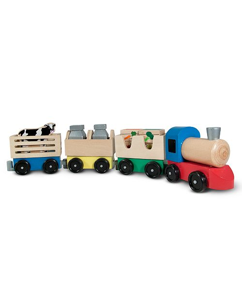 Melissa and Doug Kids Toys, Farm Train