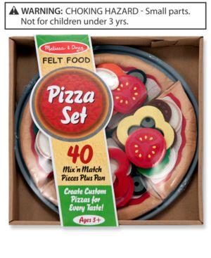 Melissa and Doug Kids Toys, Felt Pizza Set
