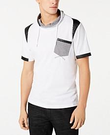 INC Men's Mixed Media T-Shirt, Created for Macy's