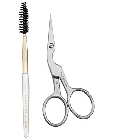 Tweezerman Brow Shaping Scissors & Brush