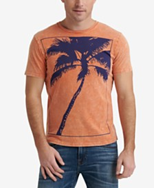 Lucky Brand Men's Big Palm Sugar Magic Graphic T-Shirt