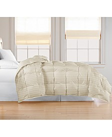 Oversized White Goose Feather/Down Comforter, Twin