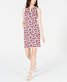 Trina Turk Floral-Print Shift Dress