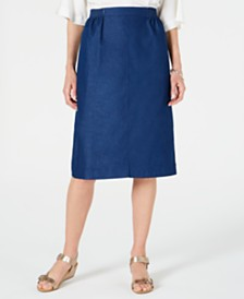 Alfred Dunner Pull-On Skirt