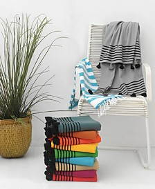 Enchante Home Capri Pestemal Fouta Turkish Cotton Beach Towel