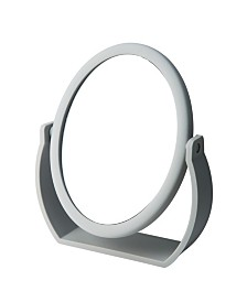 Home Details Swivel 10X Magnification Rubberized Vanity Mirror