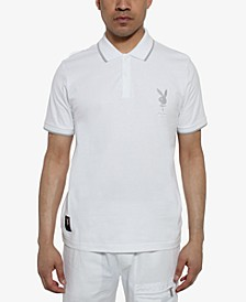 Men's Playboy Collection Embroidered Logo Polo