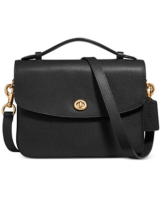 Cassie Crossbody In Polished Pebble Leather by General