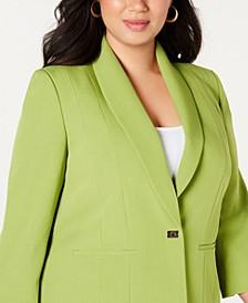 Plus Size Turn-Key Blazer