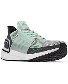 Men's UltraBOOST 19 Running Sneakers from Finish Line
