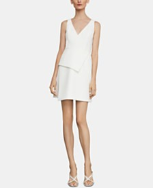 BCBGMAXAZRIA Asymmetrical Cocktail Dress