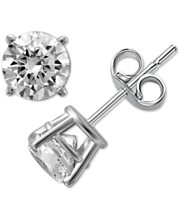 c0a02e00b Diamond Stud Earrings (1/4 ct. t.w.) in 14k White Gold