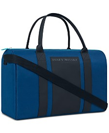 Receive a Complimentary Duffel Bag with any $92 purchase from the Issey Miyake Men's Fragrance Collection