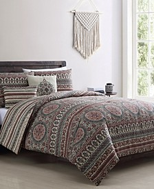 Menkis 5-Pc. Full/Queen Comforter Set