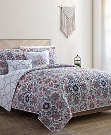 Anges 5-Pc. Full/Queen Quilt Set