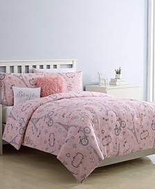 When I Am In Paris 4-Pc. Twin Comforter Set