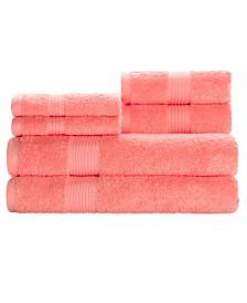 Caro Home Heirloom 6-Pc. Towel Set