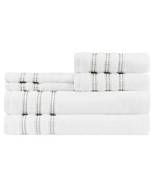 Caro Home Sabina 6-Pc. Towel Set